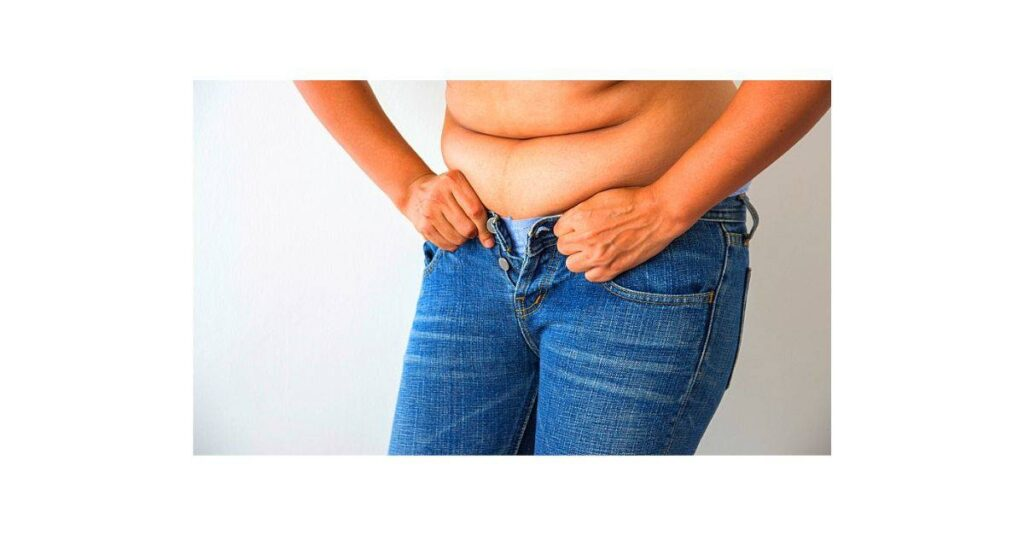 How to fix muffin top in jeans