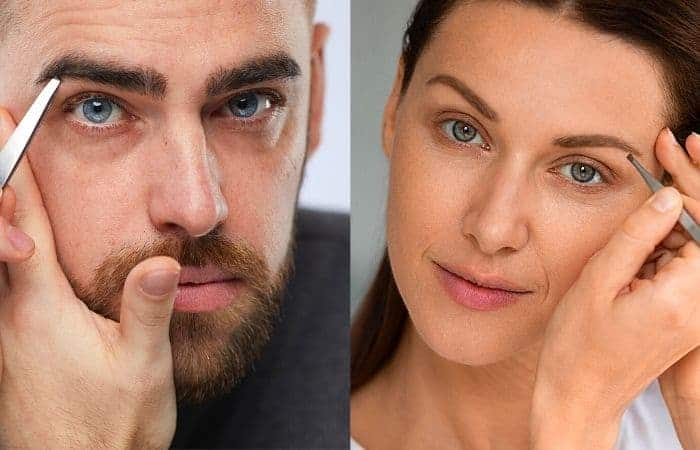 How to look more feminine in the face with fixing eyebrows