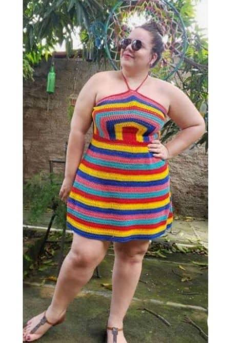 plus size music festival outfit ideas crochet