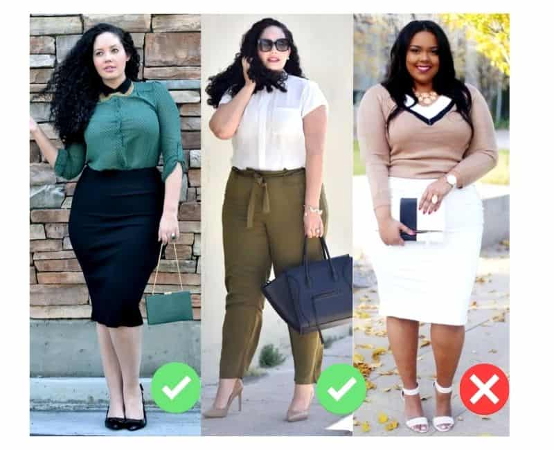 business causal outfit ideas plus size