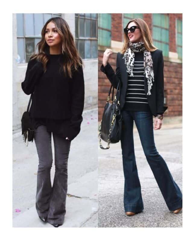 Black jeans outfit ideas